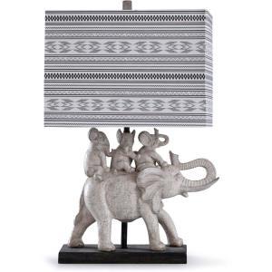 Dapple - One Light Family Of Elephants Table Lamp