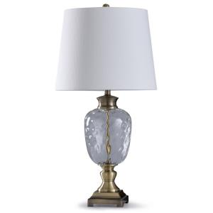Beacon - One Light Traditional Glass Table Lamp