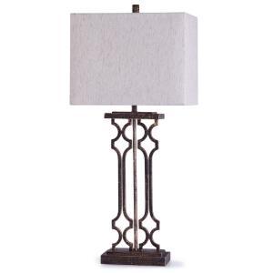 Lattice - One Light Table Lamp