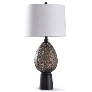 Finchley - One Light Open Scroll Work Table Lamp