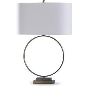 Beacon - One Light Open Circular Table Lamp
