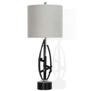 Drayton - One Light Sculptural Table Lamp