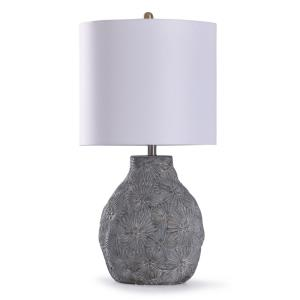 Cleobury - One Light Floral Table Lamp