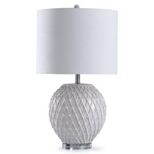 Tabitha - One Light Quilted Design Table Lamp