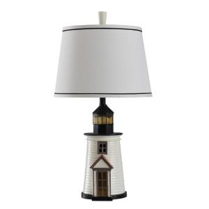 Nantucket Lighthouse - One Light Table Lamp