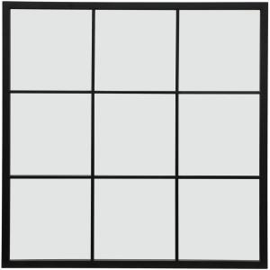 Windowpane - 35.43 Inch Traditional Square Wall Mirror