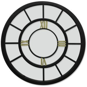 Traditional - 31 Inch Round Wall Mirror with Roman Numerals
