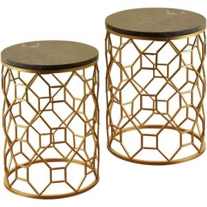 "16.5"" Round Side Tables (Set of 2)"