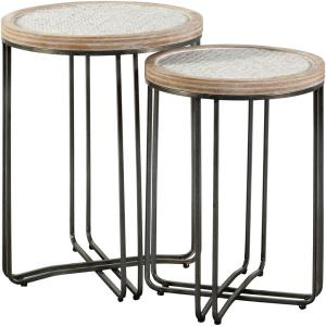 "Ryder - 25"" Round Table (Set of 2)"