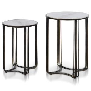 Tower - 26 Inch Side Table Set (Set of 2)