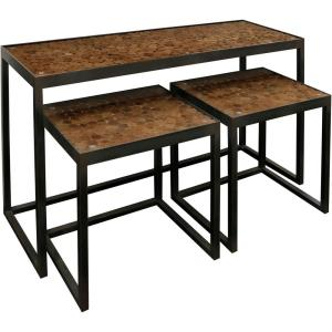31 Inch Buffet Table (Set of 3)