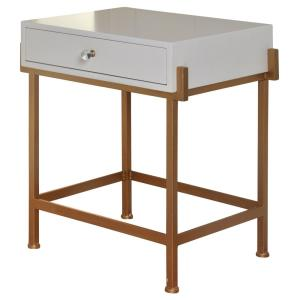 "16"" 1 Drawer Side Table"