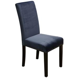 "Silk Road - 18"" Parson Dining Chair With Nail Head Trim"