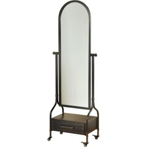 Cheval - 72.4 Inch Mirror with Lower Storage Drawer