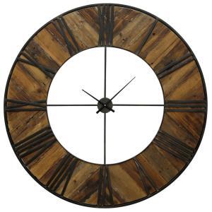 47 Inch Metal Frame Wall Clock
