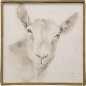 Lamb Farm Animal - 25.74 Inch Wall Art