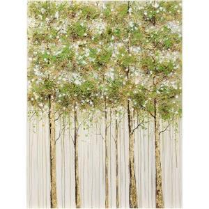 Hemlock Woods - 40 Inch Hemlock Forest Canvas Wall Print