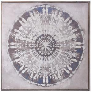 Kaleidoscope - 40 Inch Linen Print Wall Art