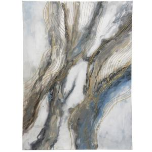 Wind Swept I - 39.37 Inch Abstract Original Hand Painting on Stretched Canvas
