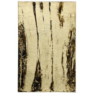 """Lawrence Crain - 30"""" Abstract Hand Painting on Canvas with Heavy Gloss Coat"""