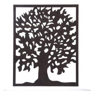 Metal Tree - 49.2 Inch Canvas Wall Art