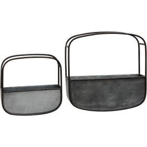 16 Inch Wall Basket (Set of 2)