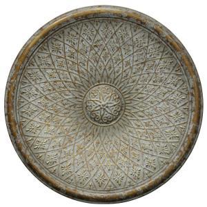 "Patina Bronze Medallion - 41.7"" Traditional Dimensional Wall Decor"