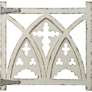 "32"" Arched Gate Wall Sculpture"