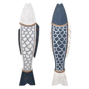 Couple Fish - 44 Inch Wall Decor (Set of 2)