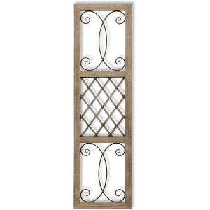 Aspire Scroll - 17.88 Inch Traditional Rectangle Wall Art