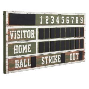 Wooden Scoreboard - 48 Inch Wall Decor