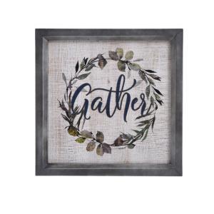 Gather Wreath - 15.8 Inch Wall Art