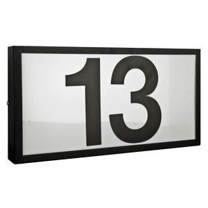 """Four Light 6"""" Large Standard Address Frame"""