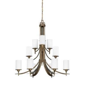 Empire - Twelve Light 3-Tier Chandelier