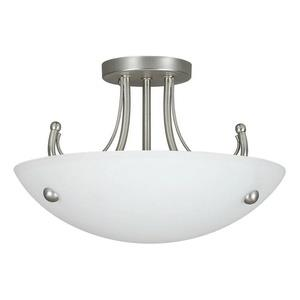 Tempest - Two Light Semi-Flush Mount
