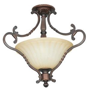 Graham - Two Light Semi-Flush Mount