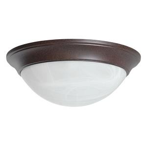 Three Light Twist-On Flush Mount