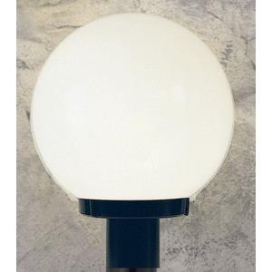 One Light Globe Post
