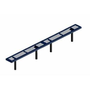 15' Inground Mount Infinity Bench without Back