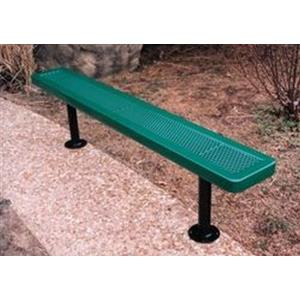 15' Surface Mount Innovated Bench without Back