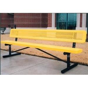 15' Portable Innovated Bench with Back