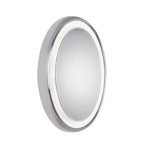 "Tigris - 35.4"" 39.6W 9 LED Oval Surface Bath Vanity Mirror"