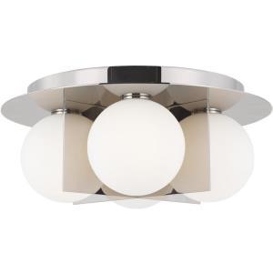 """Orbel - 15"""" 20W 4 LED Flush Mount"""