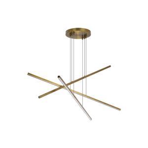 Essence Trio - 50 Inch 72W 3 LED Chandelier
