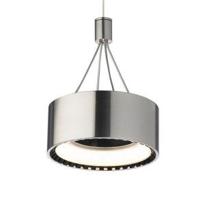 "Corum - 6"" 7.2W 1 LED 2-Circuit Monorail Low-Voltage Pendant"