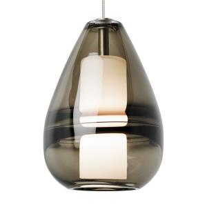 "Mini Ella - 7"" 8W 1 LED Two-Circuit MonoRail Low-Voltage Pendant"
