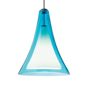 """Melrose II - 8.8"""" 8W 1 LED Two-Circuit MonoRail Low-Voltage Pendant"""
