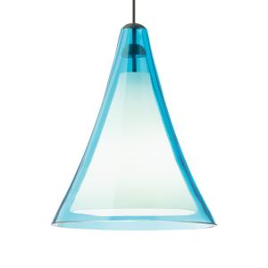 Mini Melrose II - One Light Two-Circuit MonoRail Low-Voltage Pendant