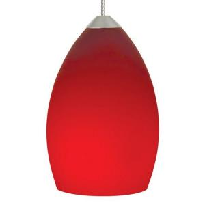 Raindrop - One Light Two Circuit Monorail Low Voltage Pendant