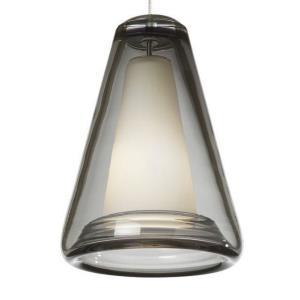 Billow - One Light Monorail Low-Voltage Pendant